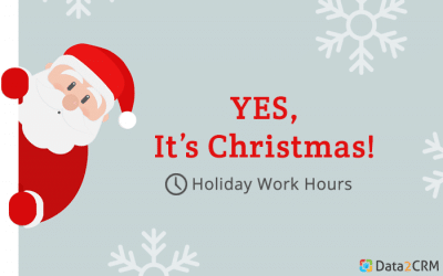 Christmas & New Years Hours of work