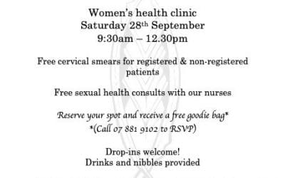 Attention Ladies!! FREE Cervical Smears during September